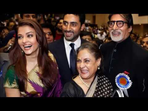 Actor Amitabh Bachchan Family Photos with Wife, Son & Daughter