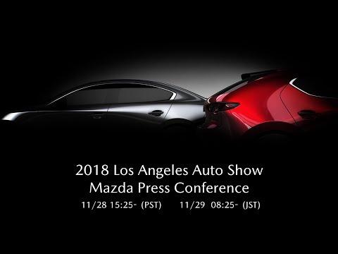 2018 Los Angeles Auto Show: Mazda Press Conference  / 2018 LAオートショー  マツダプレスカンファレンス