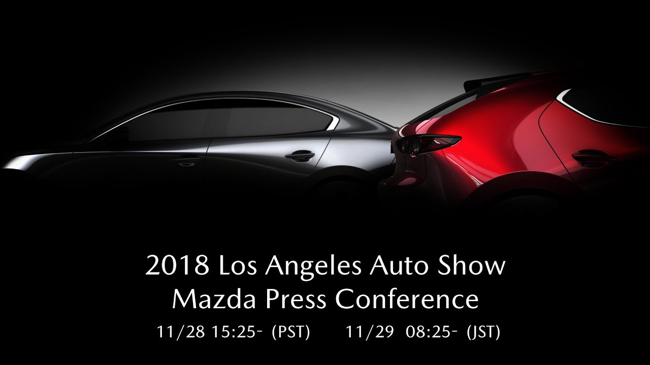 2018 Los Angeles Auto Show: Mazda Press Conference  / 2018 LA??????  ?????????????