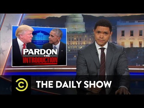 Thumbnail: Donald Trump Visits the White House: The Daily Show