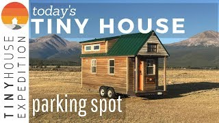 Tiny Home Community In Colorado Mountains | S1 E1 Today's Tiny House Parking Spot