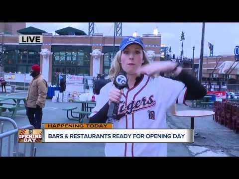Bars and restaurants ready for Detroit Tigers Opening Day