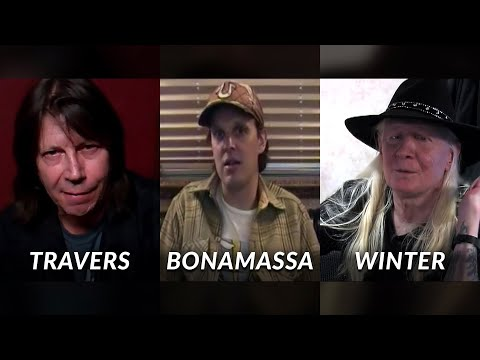 Bonamassa, Travers, Johnny Winter talk about Frank Marino