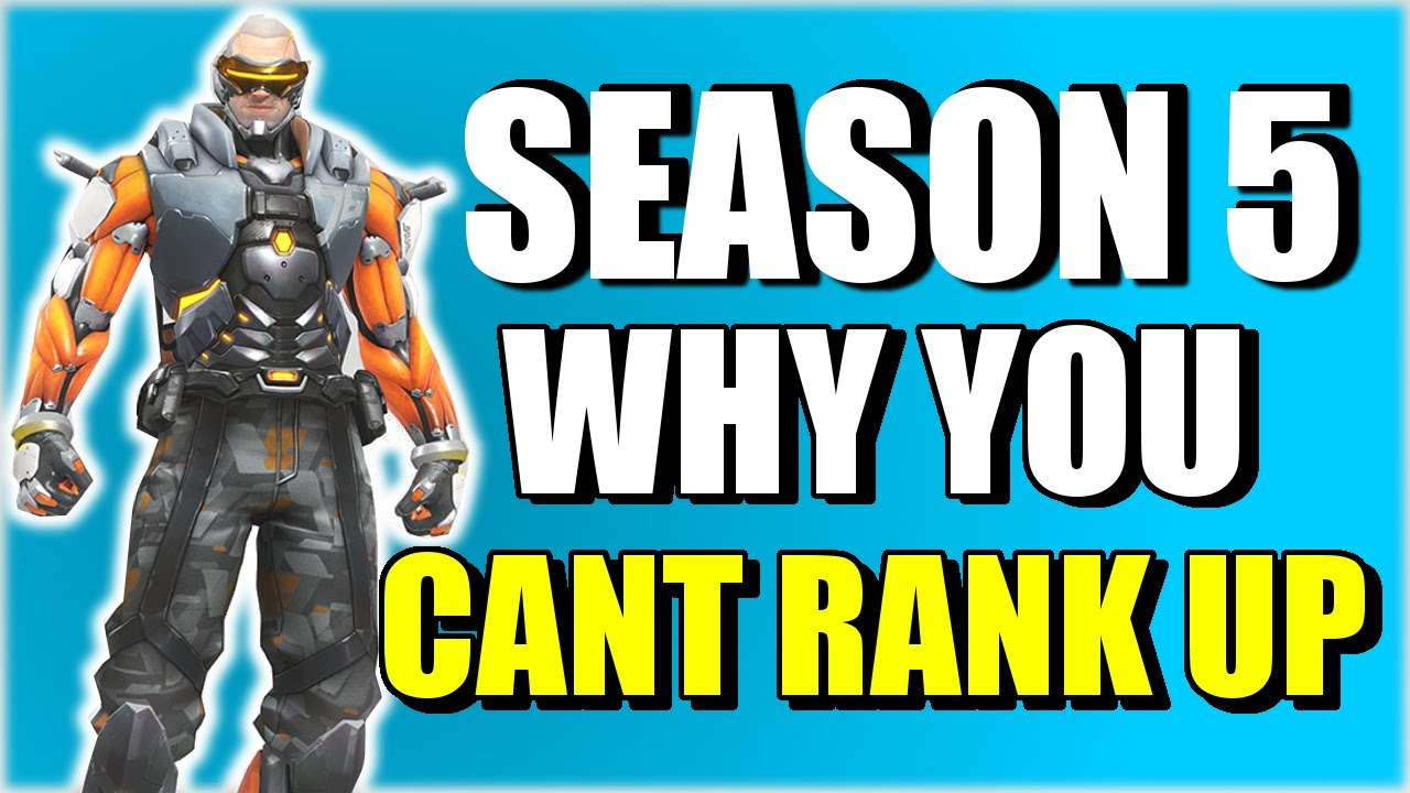 how to stop losing rank in overwatch