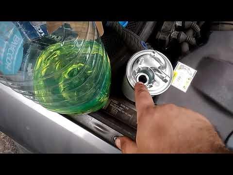 Фото к видео: Замена топливного фильтра ДИЗЕЛЬ Ауди А6 С5 2.5 ТДИ