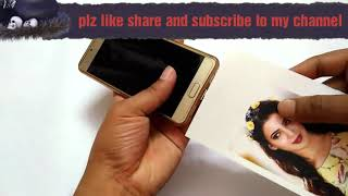 How to print photo on your phone case home made step by step