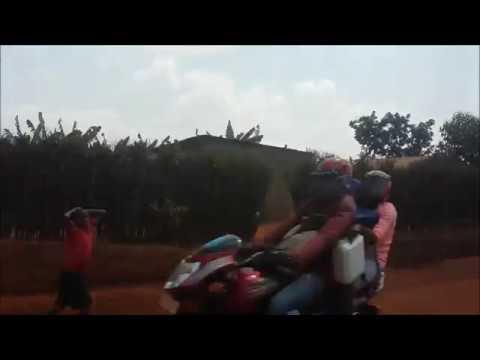 Rwanda truck journey - en route to our farming projects