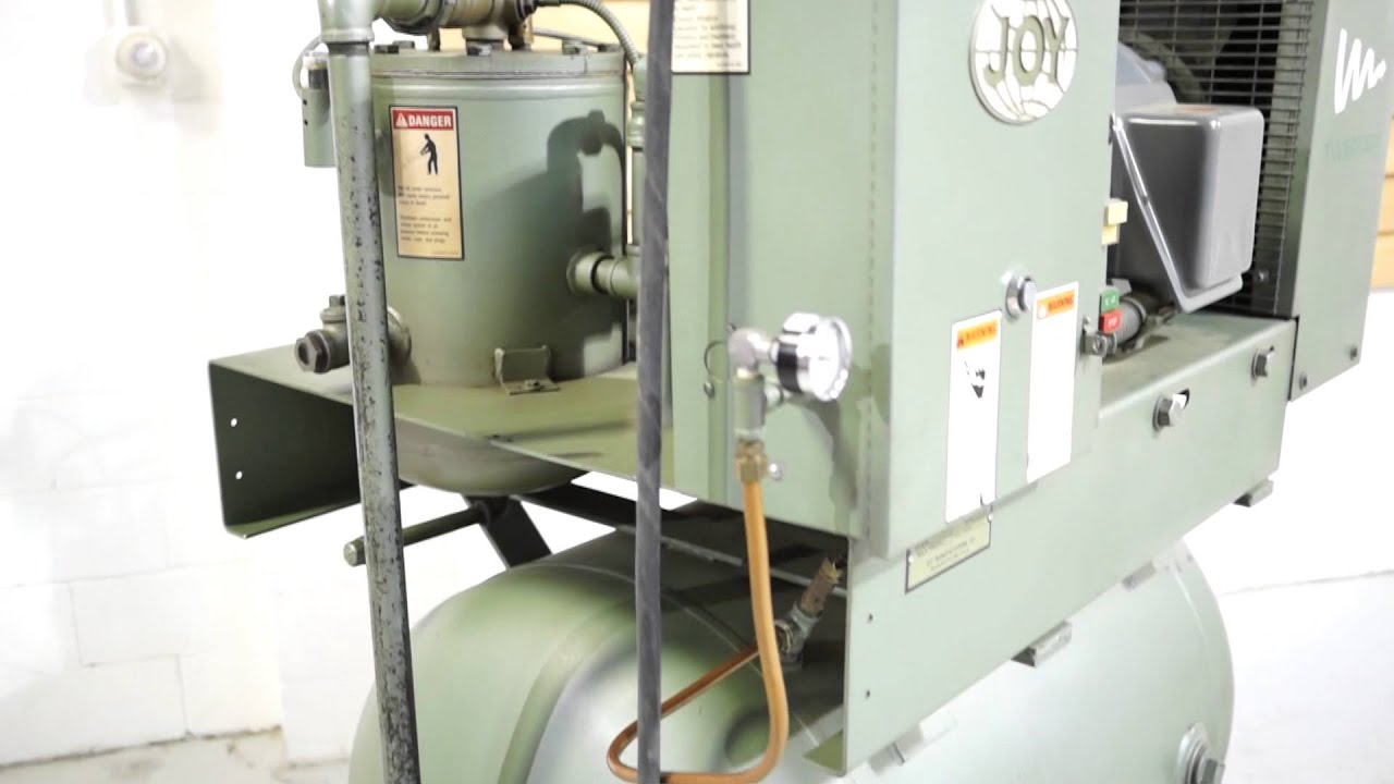 joy twistair 30 hp rotary screw compressor youtube rh youtube com