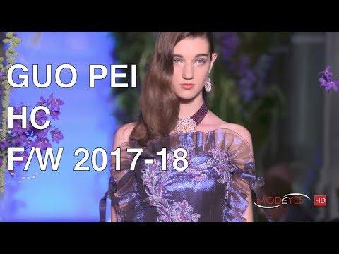 GUO PEI for CAROLINE SCHEUFELE | FALL WINTER 2017/18 | HAUTE COUTURE FASHION SHOW | EXCLUSIVE
