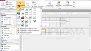 Fügen Sie in den Formularfuß des Formulars Produktformular zwei Textfelder ein, auf denen der...