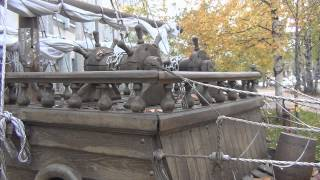 Макет корабля (фрегат)