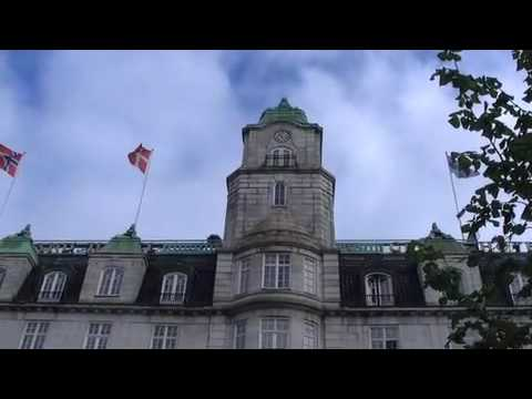 James Rollins, talks about Oslo Grand Hotel