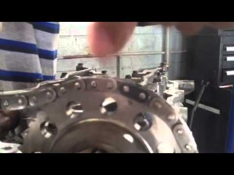 Sr 20 Timing Chain Install Youtube