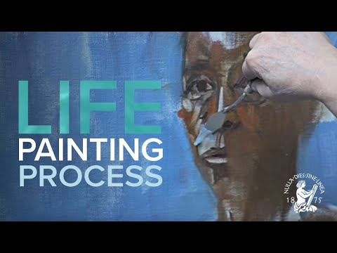 Mary Beth McKenzie: Portrait Painting Demonstration