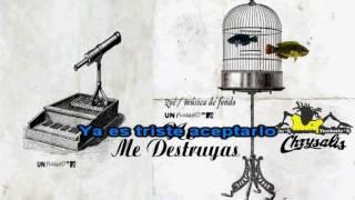 No Me Destruyas -  Zoe Karaoke