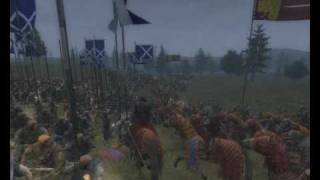 Williams Freedom Battle of Stirling (Part 1)with Medieval 2 total war