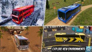 Modern Bus Simulator New Parking Games – Bus Games Android Gameplay screenshot 3