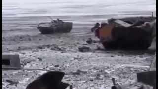 + 18 Луганск. 31 блокпост. Разбитые Позиции ВСУ Ukraine is civil war ...