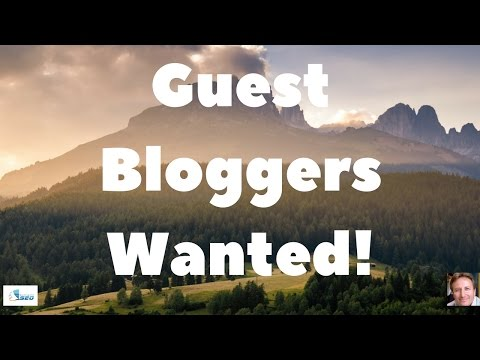 Guest Bloggers Wanted! We Want Your Story