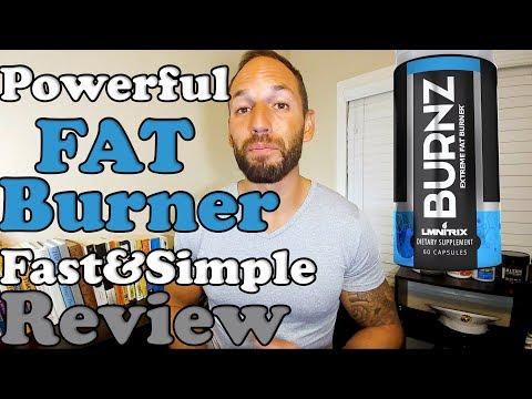 Burnz Powerful Fat Burner | Lmnitrix | 2017 Supplement Review