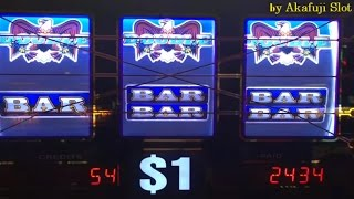 Akafuji Slot JACKPOT★2nd handpay on PATRIOT this month★RATRIOT Dollar Slot, Bet $5, Barona Casino
