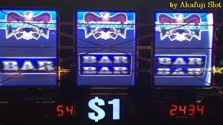 JACKPOT★2nd handpay on PATRIOT this month★RATRIOT Dollar Slot, Bet $5, Barona Casino, Akafuji slot