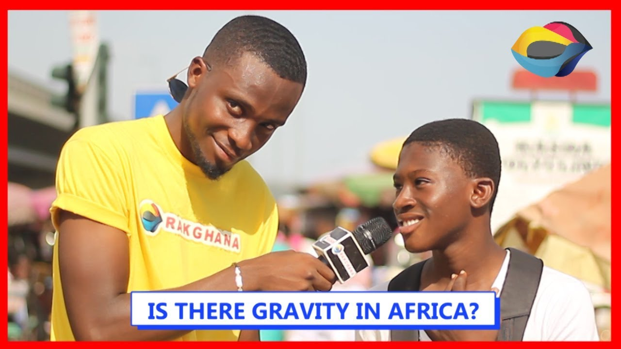 Is There GRAVITY In AFRICA? | Street Quiz | Funny Videos | Funny African Videos | African Comedy