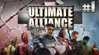 Stumpt Plays - Marvel Ultimate Alliance - #1 - Smack My Ultron Up (Multiplayer Gameplay)
