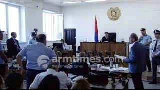 Լարված իրավիճակ դատարանում. գլխավոր դատախազ Vs Ռոբերտ Քոչարյան