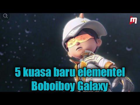 5 kuasa baru elemental BoBoiboy dalam Musim 1