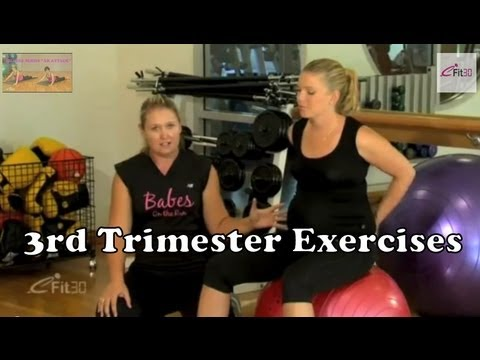 3rd Trimester Exercises, for Pregnant mothers