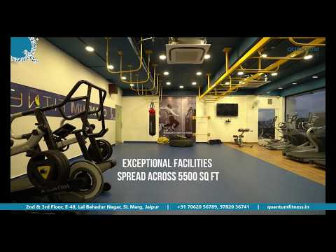 TAKE A STRIDE TOWARDS A FIT LIFE   Quantum Fitness Jaipur