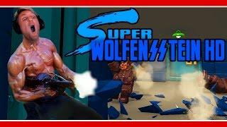 Super Wolfenstein HD (60fps) | OLD SCHOOL BADASS! | Indie Gameplay w/ facecam