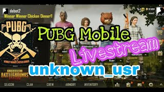PUBG Mobile Top Squad Hunting Livestream