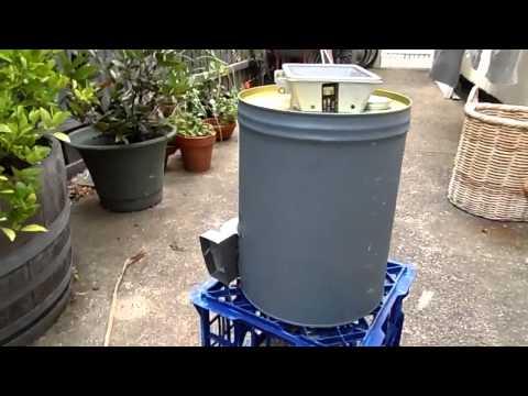 Home Built Garden Mulcher Test Run