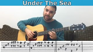 Fingerstyle Tutorial: Under the Sea - Guitar Lesson w/ TAB