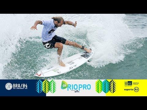 Kanoa Igarashi vs. Julian Wilson vs. Owen Wright - Round Four, Heat 4 - Oi Rio Pro 2017