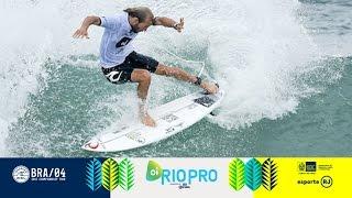 Oi Rio Pro : un quatuor d'hommes forts en quarts