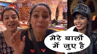 Bigg Boss 11: Hina  & Shilpa  makes fun of Dhinchak Pooja