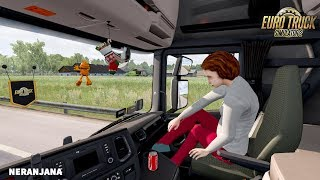 "[""ets2 best mods"", ""top mods"", ""ets2 mods"", ""truck simulator"", ""euro truck simulator 2"", ""Animated female passenger in truck (with you) V2.0"", ""ETS 2 Mod 