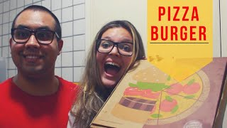 PIZZA BURGER do Burger King! | FoodRango