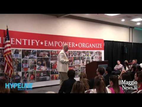 Turning Point USA Advisor Brent Hamachek  Speaks at West Palm Beach Conference
