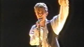 David Bowie Sound+Vision Tour 1990
