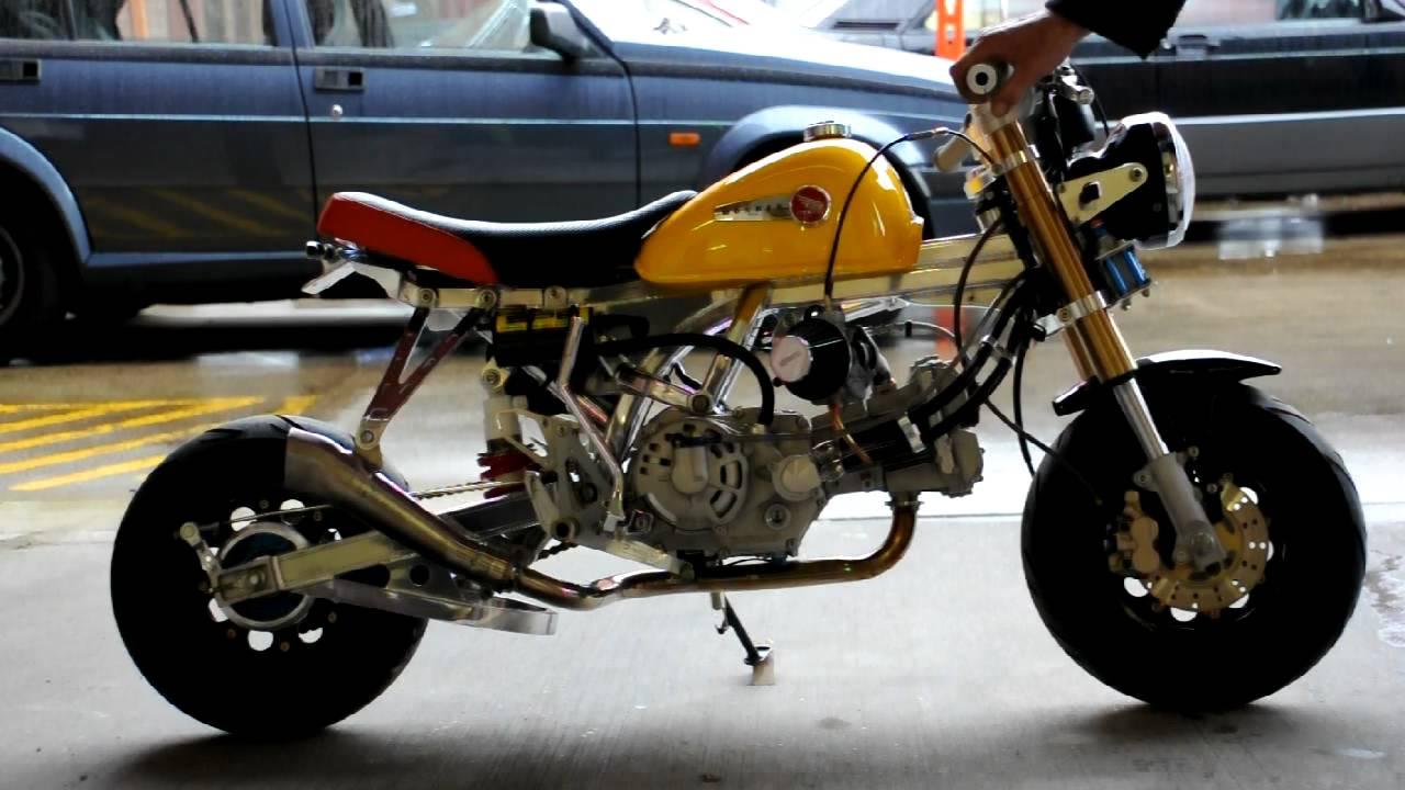 Highly Tuned Checkered Honda Takegawa 124cc Dohc Honda