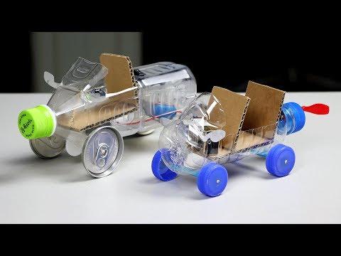 2 Simple Cars DIY for Kids