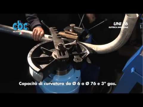 Видео Гибка стальной трубы диаметр 60мм в спб