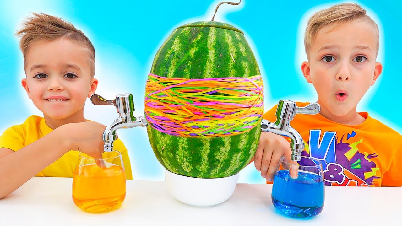 Download Vlad and Niki have fun with Mom - collection kids video with toys