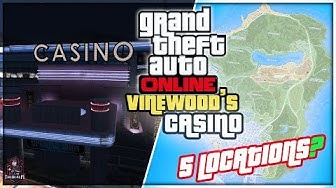 GTA Online Casino DLC Update -  ADDING 5 CASINO LOCATIONS!! More Details & Info!