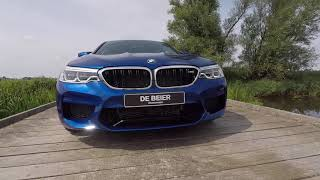 2018 BMW M5 - Marina Bay Blue - Acceleration & Overview