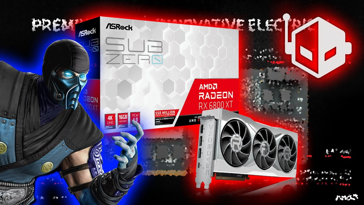 ASRock Radeon RX 6800 XT Sub Zero Graphics Card Coming - WccftechTV